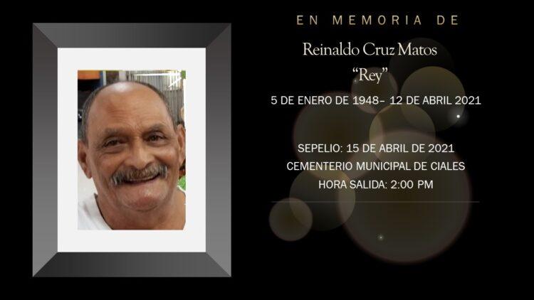 Reinaldo Cruz Matos